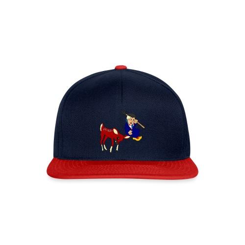 hert vs boer kind - Snapback cap