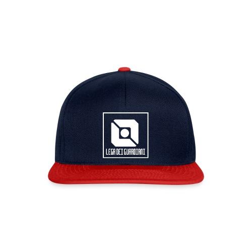 Lega Dei Guardiani - Logo Bianco - Snapback Cap