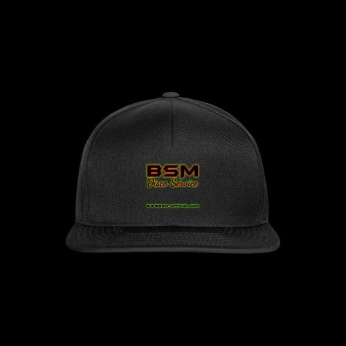 BSM Disco Service Logo - Snapback Cap