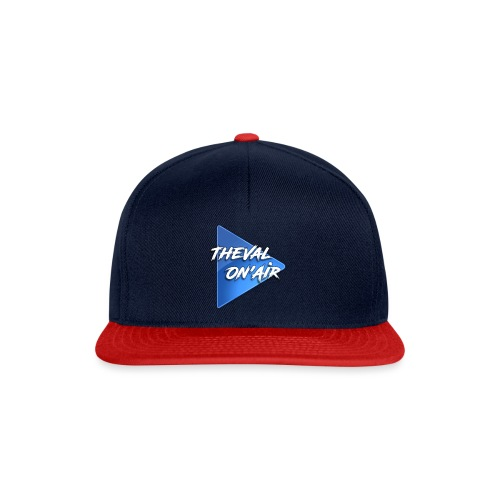 Logo TheVal On'Air - Casquette snapback