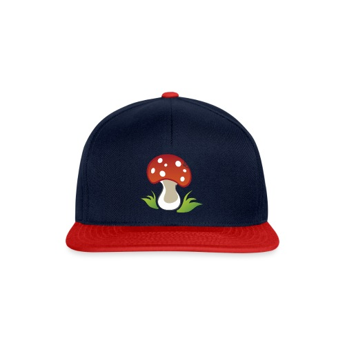 Mushroom - Symbols of Happiness - Snapback Cap