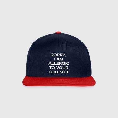 Mi dispiace sono allergico al vostro stronzate - Snapback Cap