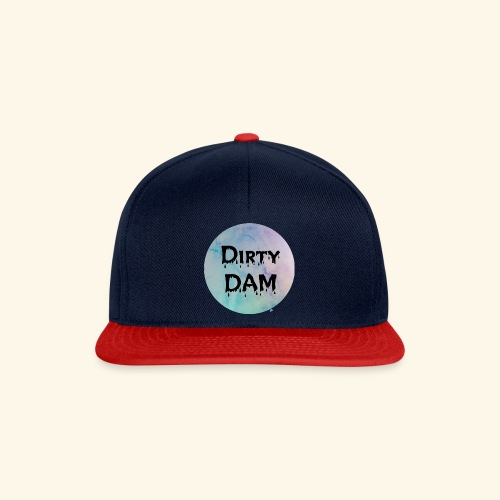 Dirty DAM dark - Casquette snapback