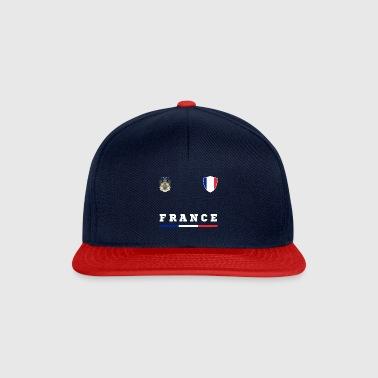 Frankrijk Crest Country idee - Snapback cap