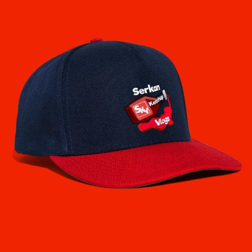 SerkanKetchupVlogs Logo 2.0 (NIEUW!) - Snapback cap
