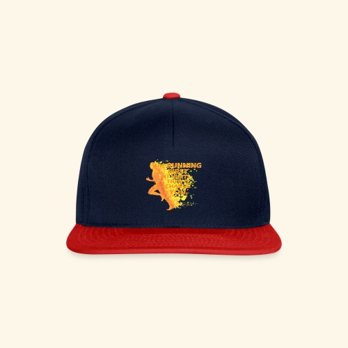 Motivo _ The Running First it Hurts - Snapback Cap