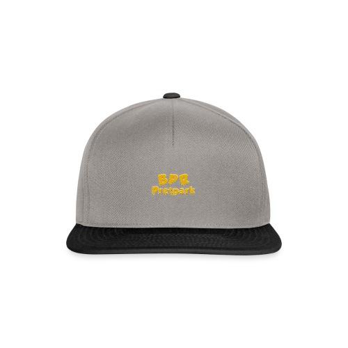 BPR Pretpark logo - Snapback cap