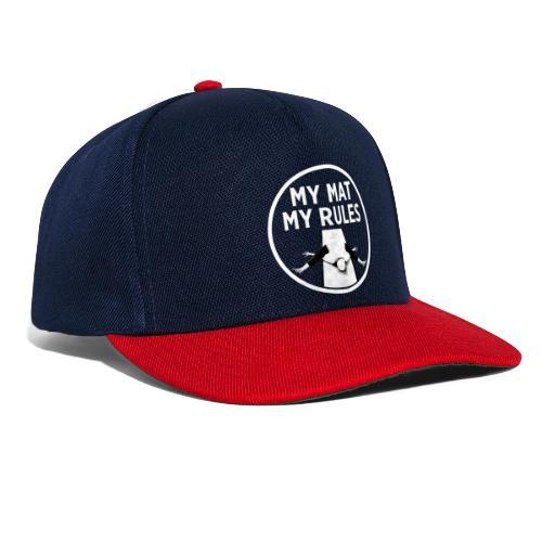 My Mat My Rules - Snapback Cap