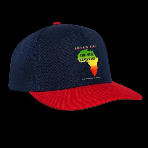 JULES BENJI & MUSIC RESISTANCE africa design - Snapback Cap