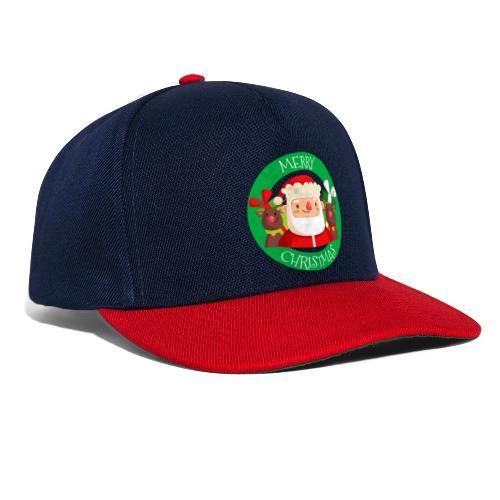 merry christmas 03 - Gorra Snapback
