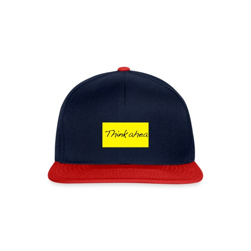 thinkahead - Snapback Cap