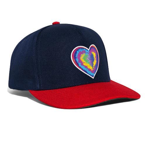 Colorful Heart - Snapback Cap