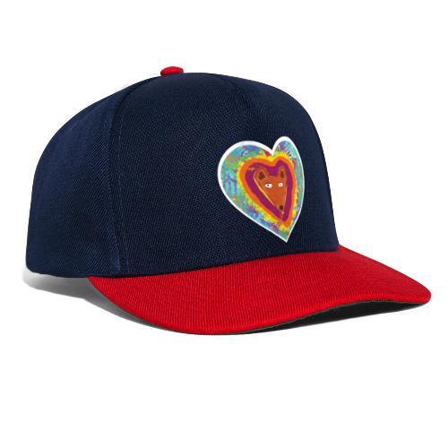 Foxy Heart - Snapback Cap