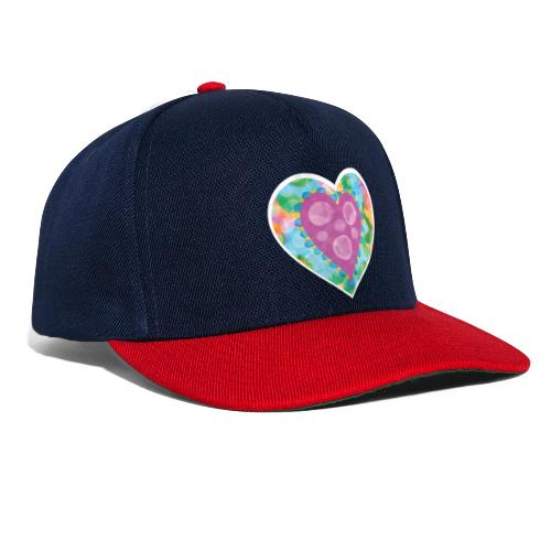 Heart Bubbles make you float - Snapback Cap
