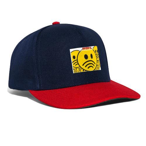 Stop ✋ T-shirt - Snapback Cap