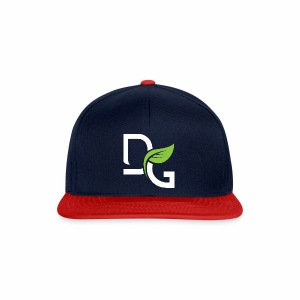 DrGreen Logo Symbol weiss grün - Snapback Cap
