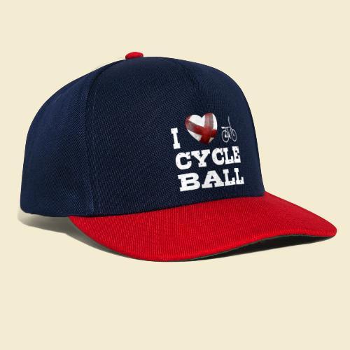 Radball | I Love Cycle Ball - Snapback Cap