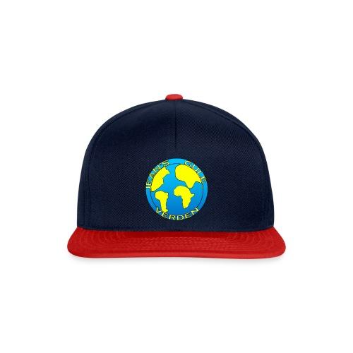 jean's gule verden logo earth - Snapback-caps