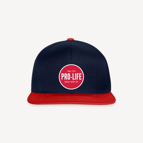 YES I'M PRO-LIFE - Snapback Cap