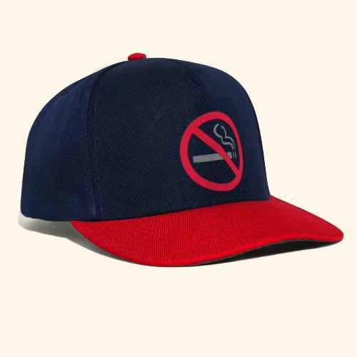 No Smoking! - Snapback Cap