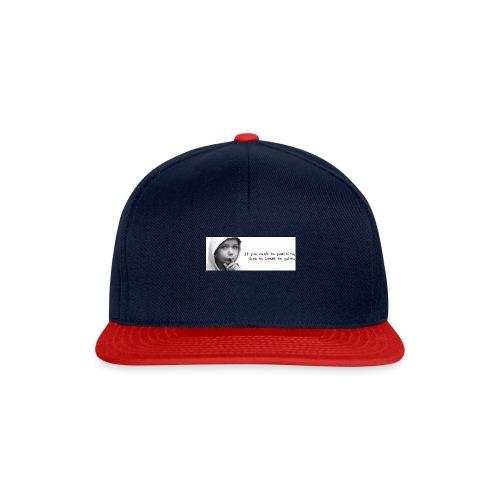 quiet - Snapback cap