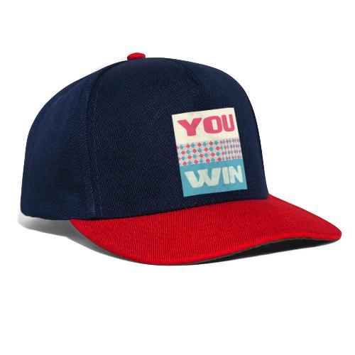 you win 8 - Snapback Cap