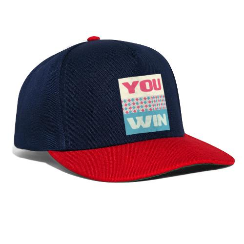 you win 8 - Snapback Cap