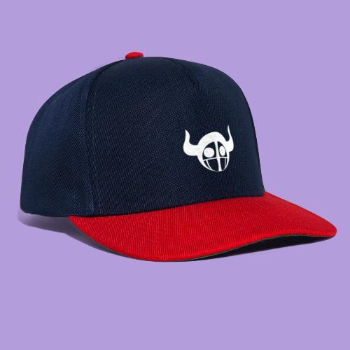 White Horns - Snapback Cap