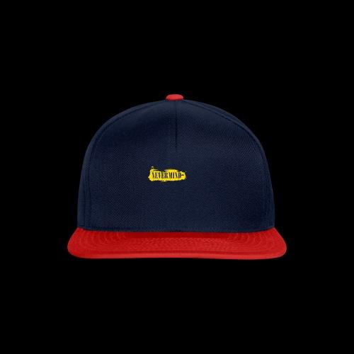 never mind - Snapback cap
