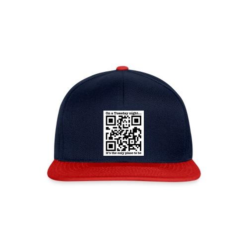 UnplugTheWoodQRCode - Snapback Cap