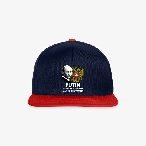 81 Putin The Most Powerful Man in the World - Snapback Cap