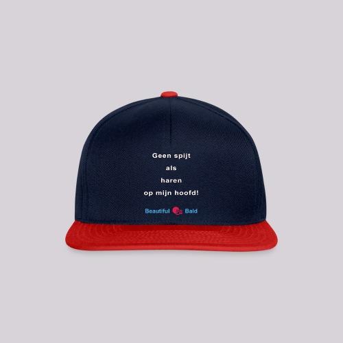 Geen spijt als haren op mijn hoofd w - Snapback cap