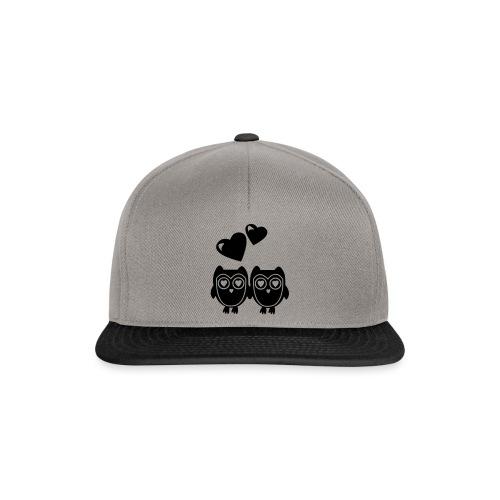 verliebte Eulen - Snapback Cap