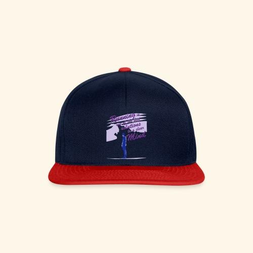Filosofico - Runnig is one the best solutions - Snapback Cap