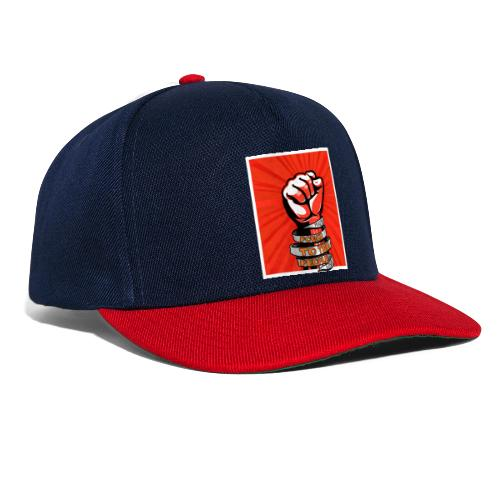 Peace, Power to the people, love, fist pump - Snapback Cap
