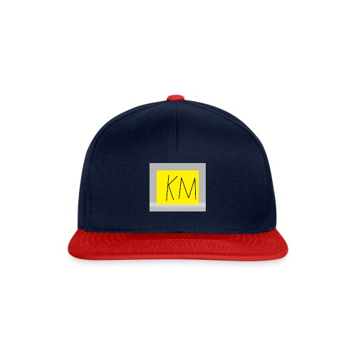 KM logo kleding - Snapback cap