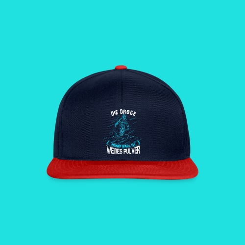 Droge snowboarden - Snapback Cap
