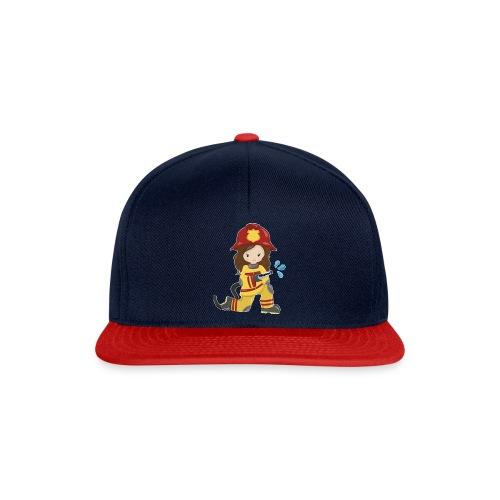 Feuerwehrfrau - Snapback Cap