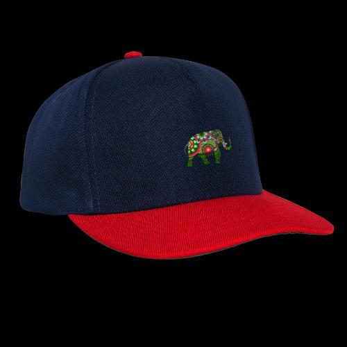 Colorful Elephant - Snapback Cap