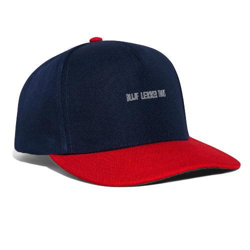 Stay home ! - Snapback cap