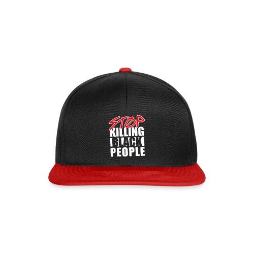 Stop Killing Black People Men's T-shirt - Snapback Cap