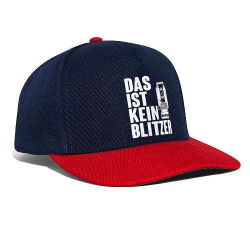 Vermessungstechniker Theodoloit Blitzer Geomatiker - Snapback Cap