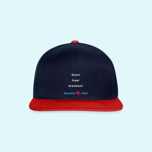 Geen haar krenken w - Snapback cap