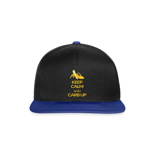 KEEP CALM and CARB UP - Snapback Cap