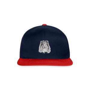shetland sheepdog sheltie - Snapback Cap