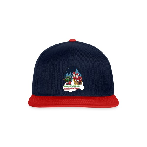 Merry Christmas And Happy New Year - Snapback Cap