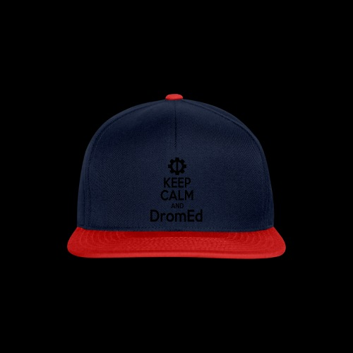 DromEd (Black Design) - Snapback Cap