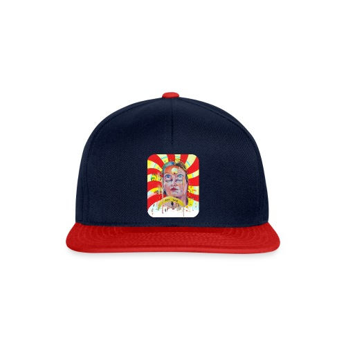 in the city of the future - Snapback cap