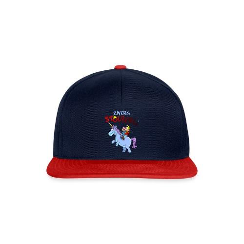 Zwerg Stolperli und das blaue Einhorn - Snapback Cap