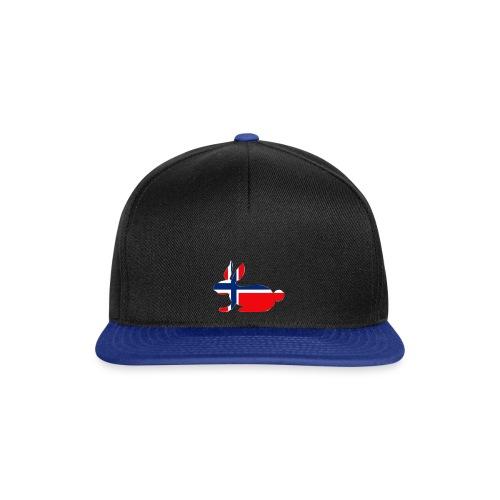 norwegian bunny - Snapback Cap